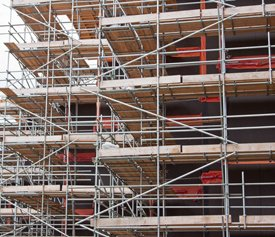 Scaffold in Tottenham